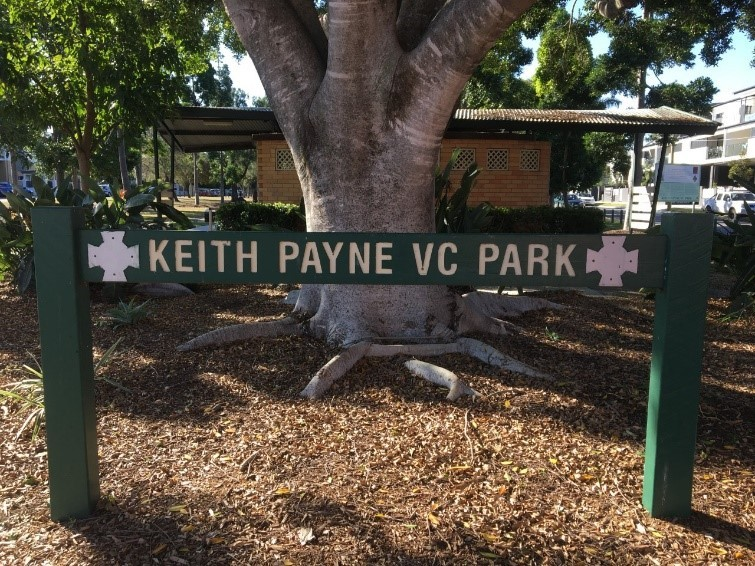 Keith Payne VC Park Buddina and Lutana Streets Stafford Brisbane