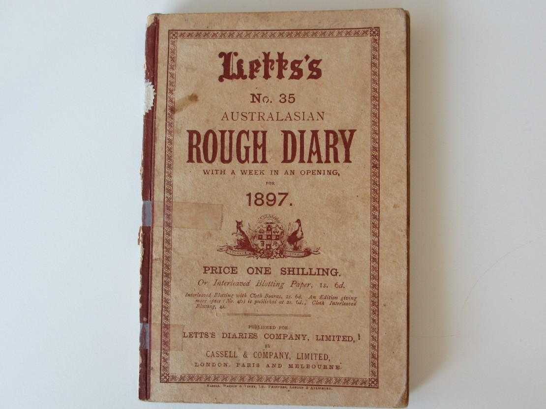 Catherine Kingsford Smith Diary for 1897