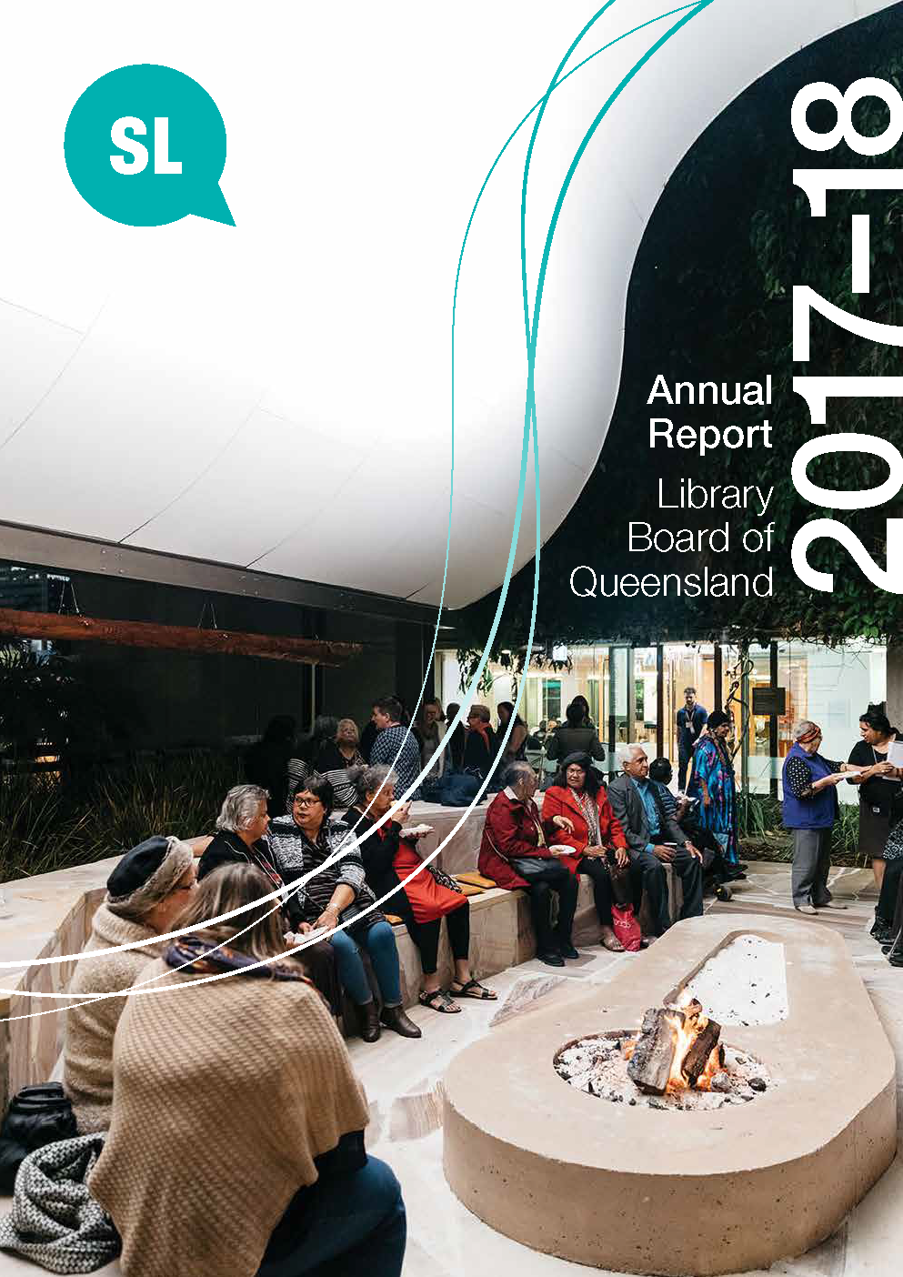 Annual Report of the Library Board of Queensland 2017-18
