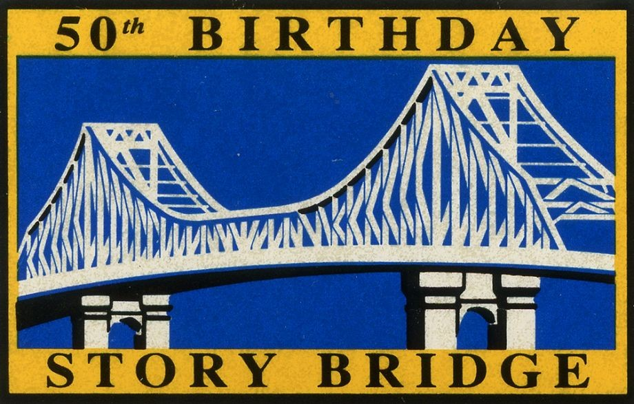 Story Bridge 50th anniversary stamp