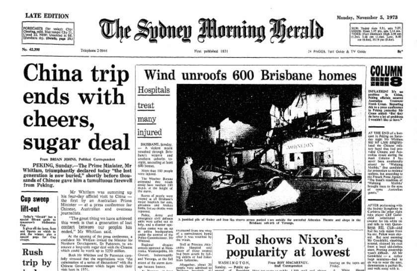 Image from The Sydney Morning Herald Archives database