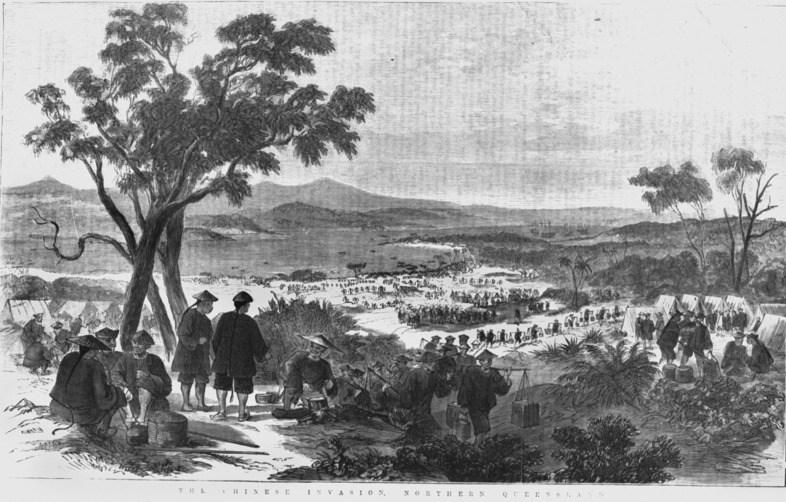 Chinese invasion Northern Queensland ca 1875
