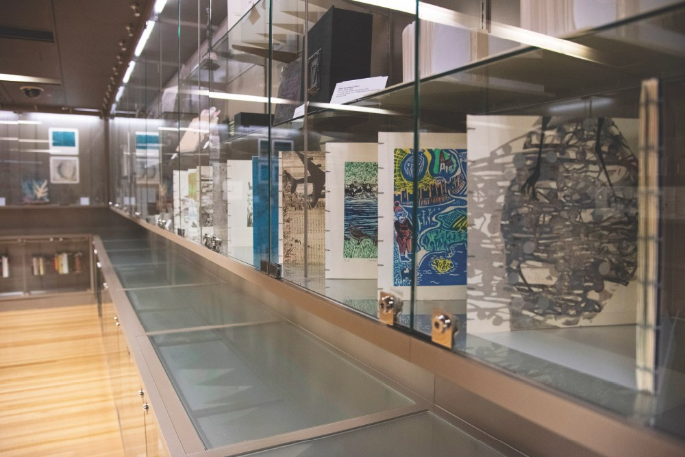 Artwork on display at Australian Library of Art