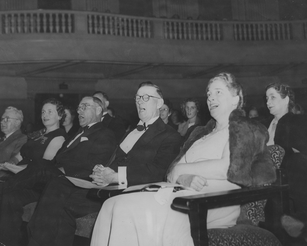 Guests at the Centaur Commemorative Concert held at Brisbane City Hall 12 May 1949