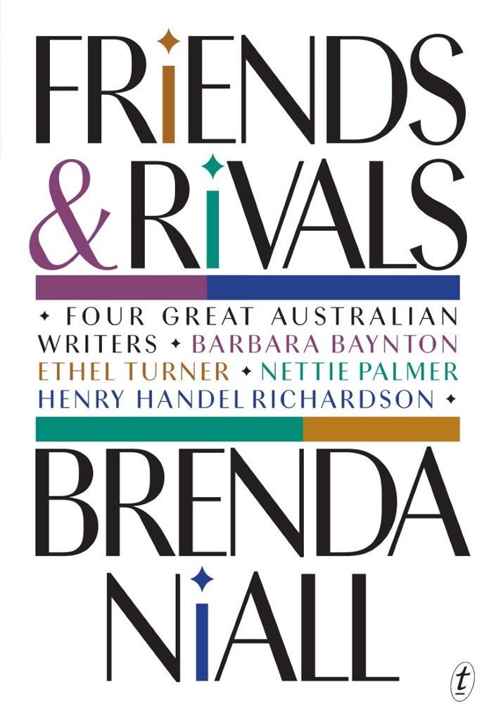 Cover of Friends and Rivals by Brenda Niall