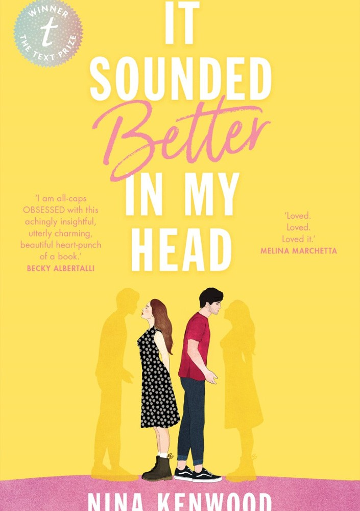 Cover of It Sounded Better in My Head by Nina Kenwood