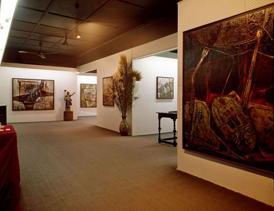 Documenta espirita exhibition of paintings by Ignacio Marmol at The Johnstone Gallery, Cintra Road, 13 July - 2 August 1969