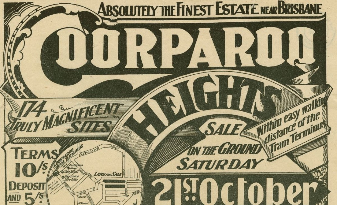Coorparoo Heights real estate poster