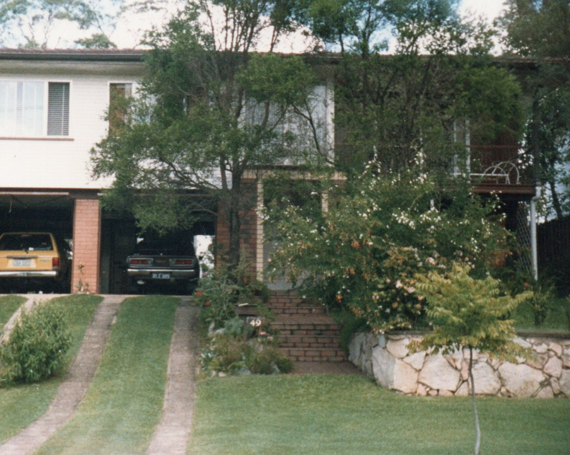 Everton Hills House 1986