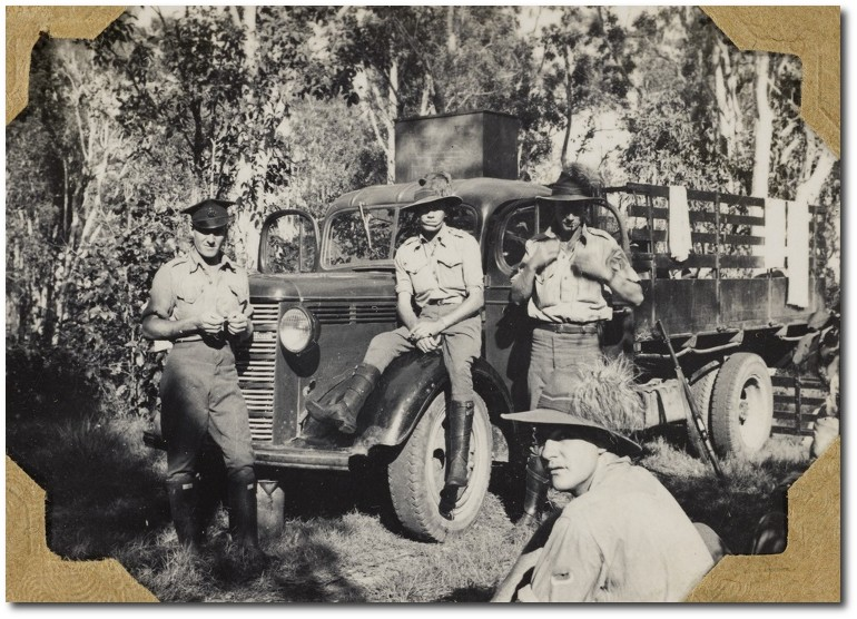 Sappers in training North Queensland 1939-1945