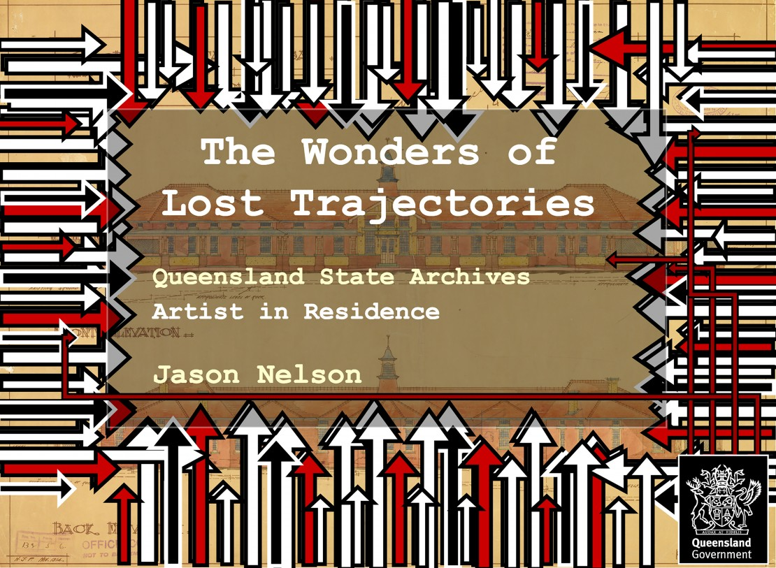 The Wonders of Lost Trajectories by Jason Nelson Queensland State Archives