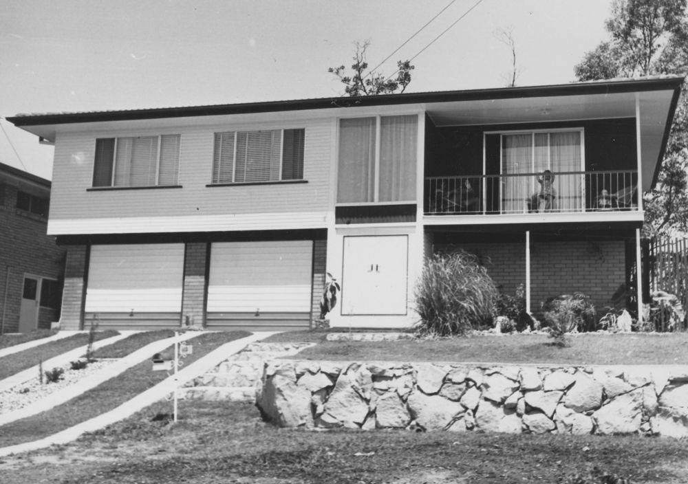 49 Olearia Street Everton Hills ca1970s From 6169 Frank and Eunice Corley House Photographs ca 1970 John Oxley Library State Library of Queensland Image 6169-1803-0008