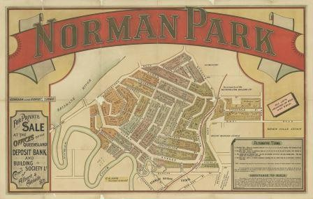 Real estate map of Norman Park