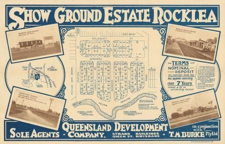 Real estate map for Show Ground Estate Rocklea