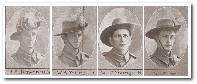 Soldier portraits from The Queenslander