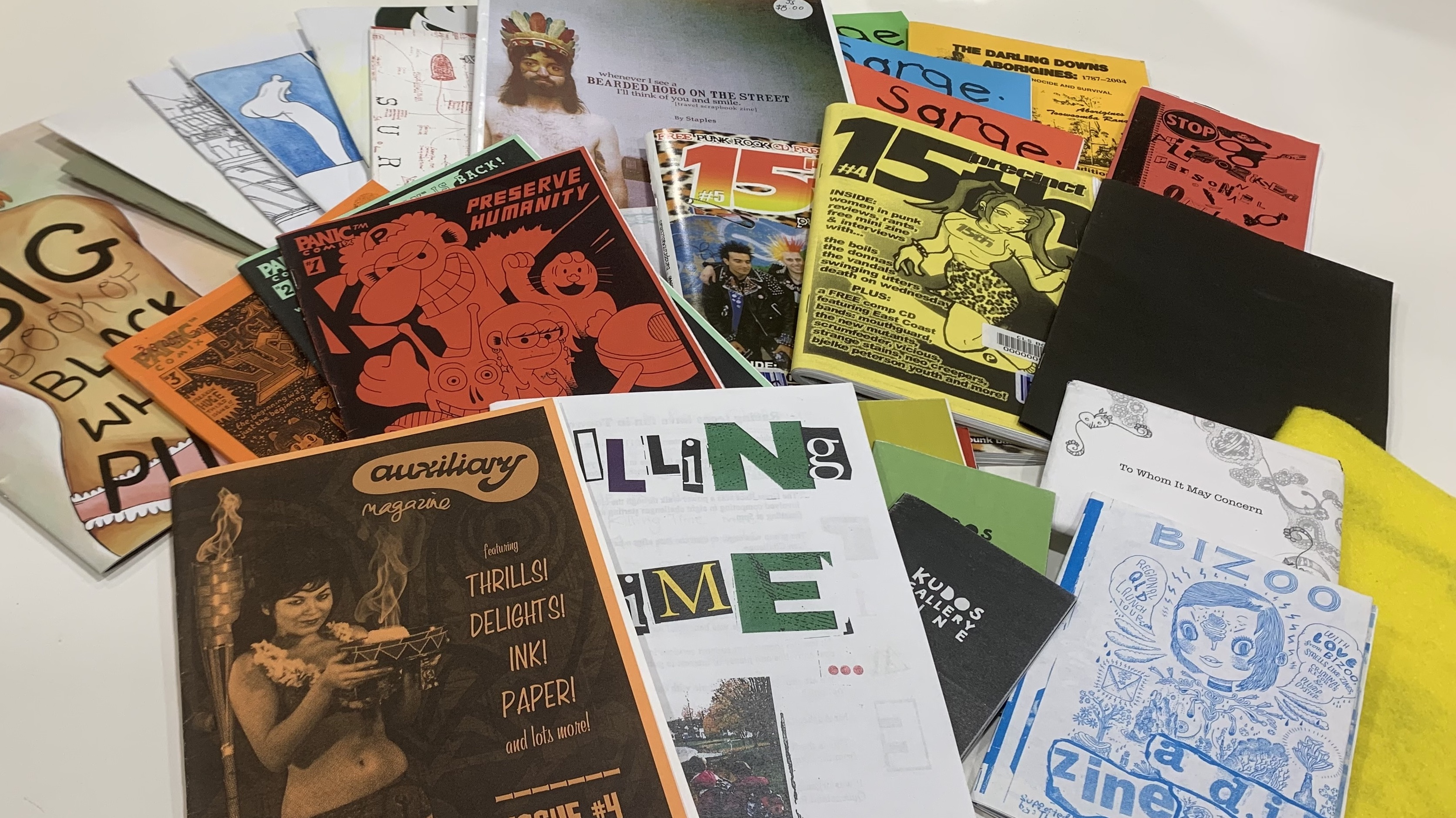 Zines in the State Library Queensland collections